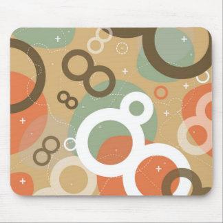 4 Gogo Mousepad abstracto Tapetes De Ratones