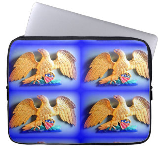 4 gold eagles laptop sleeve