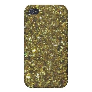 4 Gold Glitter Hanukkah  iPhone 4/4S Case