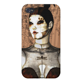 4 Gothic Mech Mistress  iPhone 4 Cases