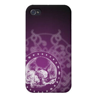 4 Gothic Skull  Case For iPhone 4