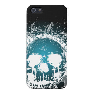 4 Gothic Skull  Case For iPhone SE/5/5s