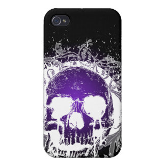 4 Gothic Skull  Cover For iPhone 4
