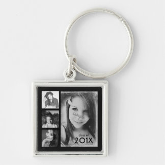 4 Graduation Photos Class of 2014 Keychain