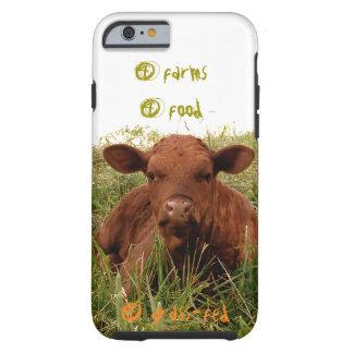 4 granjas, 4 comida, 4 hierba-alimentaron el funda para iPhone 6 tough
