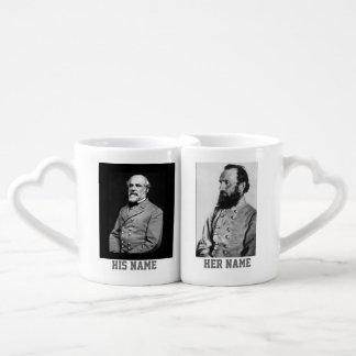 4 GREAT SOUTHERN GENERALS COFFEE MUG SET