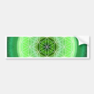 4 heart chakra green created by Tutti Bumper Stickers