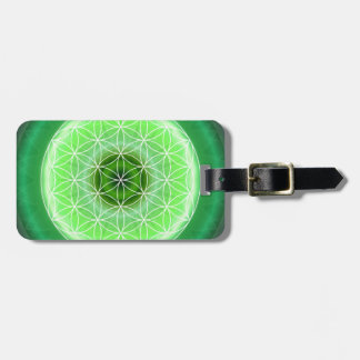 4 heart chakra green created by Tutti Luggage Tag