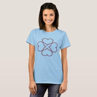 4 Heart Clover T-Shirt