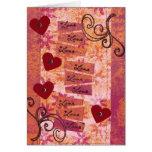 4 Hearts 9 Loves Card
