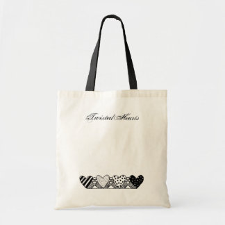 4 Hearts Tote, TwistedHearts Tote Bag