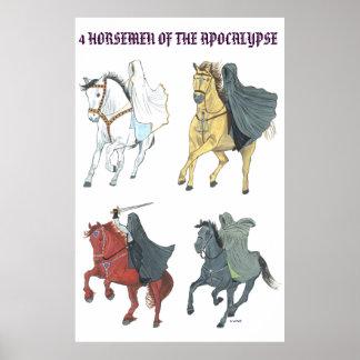 4 HORSEMEN POSTER