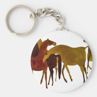 4-HORSES LLAVERO REDONDO TIPO PIN