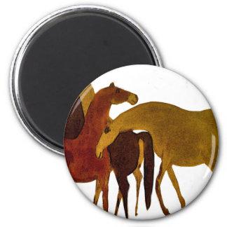 4-HORSES MAGNET