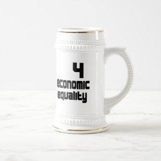 4 igualdad económica Stein Jarra De Cerveza