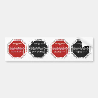 4 in 1 Fake Alarm System Sticker for your car!