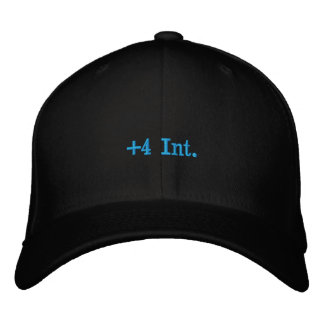 +4 Int. Embroidered Hats