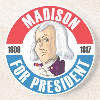 #4 James Madison Campaign Coaster