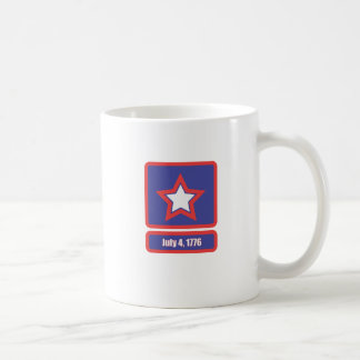 4 july army logo coffee mug