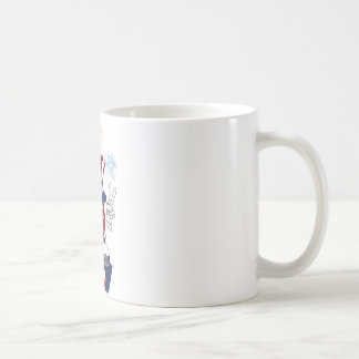 4 july cartoon coffee mug