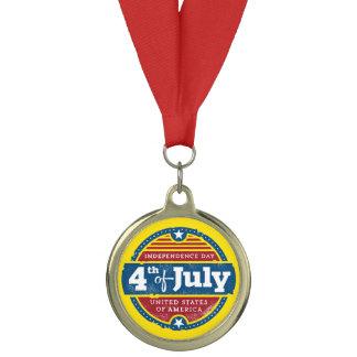 4 july independence day celebration medal