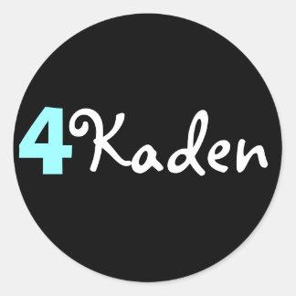 4 Kaden Sticker