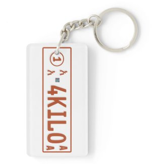 4 kilo and 6 kilo key chain