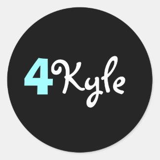 4 Kyle Sticker