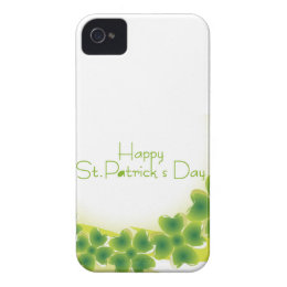 4 leaf clover for St.Patrick's Day iPhone 4 Case