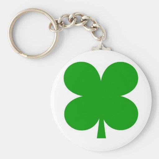4 leaf clover keyring key chain