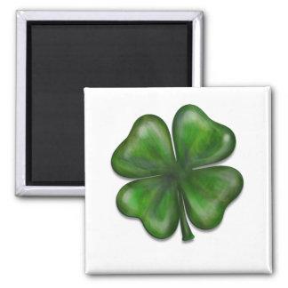 4 leaf clover fridge magnet