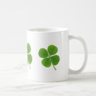 4-leaf clover mug coffee mugs