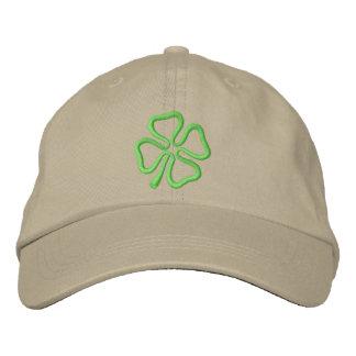 4-leaf Clover Outline Cap
