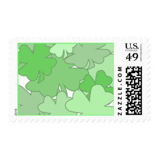 4-Leaf Clover Postage