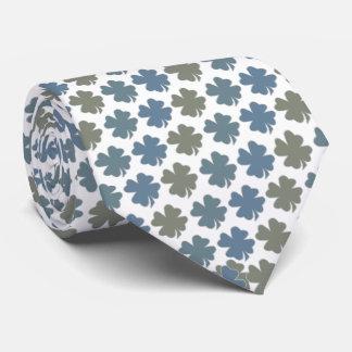 4 Leaf Clover Tie Armani Gray