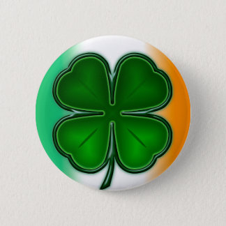 4 Leaf Clover with Color Button