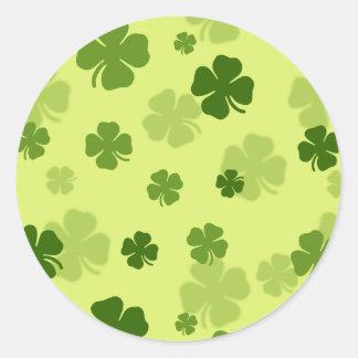 4 Leaf Clovers Sticker