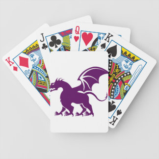 4 legged dragon bicycle playing cards