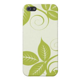4 Lime Green Island Floral  Cover For iPhone SE/5/5s