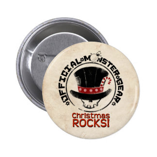 4 Little Monsters - Andy Holiday Pinback Button