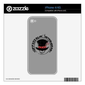 4 Little Monsters - Andy Holiday Logo Decals For The iPhone 4S