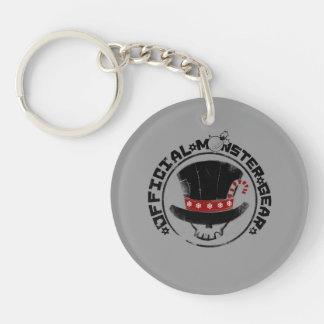 4 Little Monsters - Andy Holiday Logo Single-Sided Round Acrylic Keychain