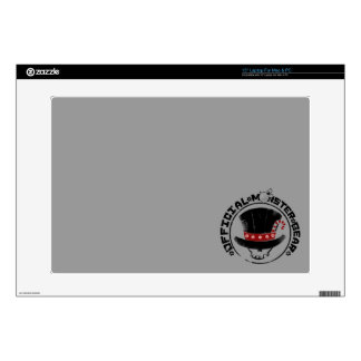 4 Little Monsters - Andy Holiday Logo Laptop Decal