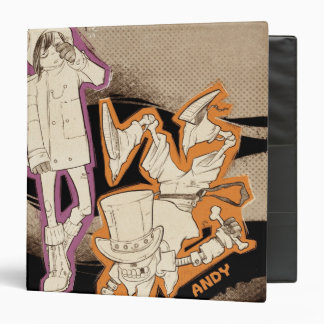 4 Little Monsters - Group 3 Ring Binder