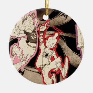 4 Little Monsters - Group Ceramic Ornament