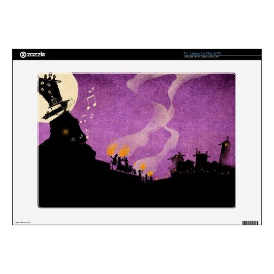 4 Little Monsters - Halloween Night Decals For Laptops