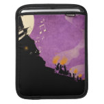 4 Little Monsters - Halloween Night Sleeve For iPads
