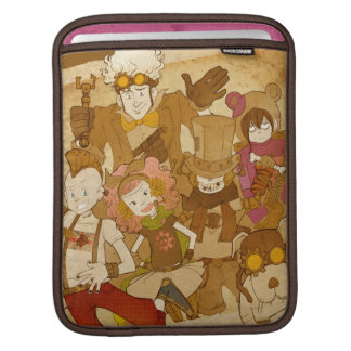 4 Little Monsters - Let's Rock the House iPad Sleeve