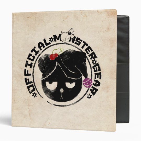 4 Little Monsters - Michael Holiday Logo Binder