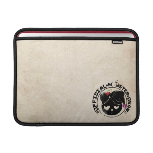4 Little Monsters - Michael Holiday Logo Sleeves For MacBook Air